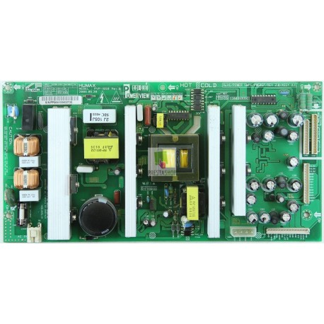 Humax LP32-TDR1 PSU PVP-1850 Rev.B PW606P-REV 2.0